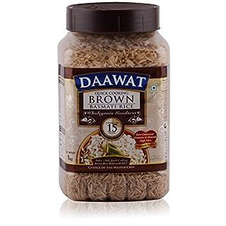 Best Daawat Basmati Rice - Brown 1kg Jar in India 2021