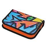 herlitz 50026739 unbefülltes Schüleretui Neon Art, 1 Stück