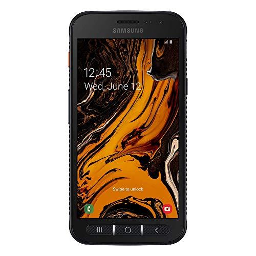 "Samsung Galaxy Xcover 4S Smartphone, Display 5.0"" HD, 32 GB Espandibili, RAM 3 GB, Batteria 2.800 mAh, 4G, Certificazione IP68, Android 9 Pie, [Versione Italiana], Black"