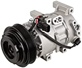 AC Compressor & A/C Clutch For Hyundai Accent Kia Rio 2012 2013 2014 2015 2016 2017 - BuyAutoParts 60-03489NA New