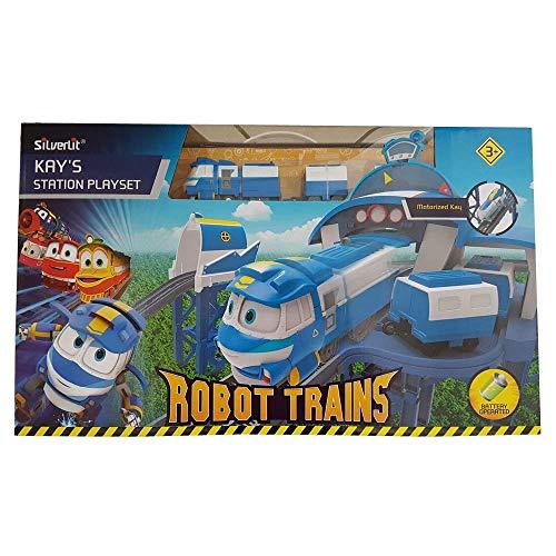 Rocco Giocattoli- Robot Trains Stazione Ferroviaria di Kay, 80170