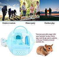 ハムスターハウス、旅行用ピクニック用の設備の整ったアクセサリーマウスケージ