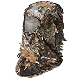 MATERIAL: Made in quick-dry, lightweight and soft thin polyester fabric. DESIGN: The 3D leafy design allows you to better hide in the jungle. FEATURE: Comfortable, soft and breathable. WIDELY USE: Ghillie face mask is perfect for hunting, spring turk...