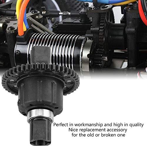 Dilwe RC Differentialgetriebe, Kunststoff-Metall-Differential-Modell Fahrzeug Zubehör für RC-Fahrzeuge( 46T 1.0Mo Stahlgang)