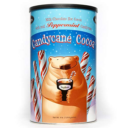 Stephen's Gourmet Cocoa (Candy Cane 4lb canister)