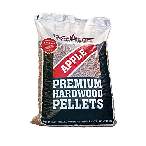 Camp Chef Bag of Premium Hardwood Applewood Pellets for Smoker, 20 lb.