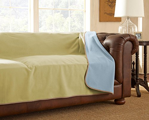 Mambe 100% Waterproof Furniture Cover for Pets and People (Sofa 70'x 120',...