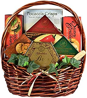 Say Cheese! | Gourmet Gift Basket with Assorted Cheese Spreads and Crackers