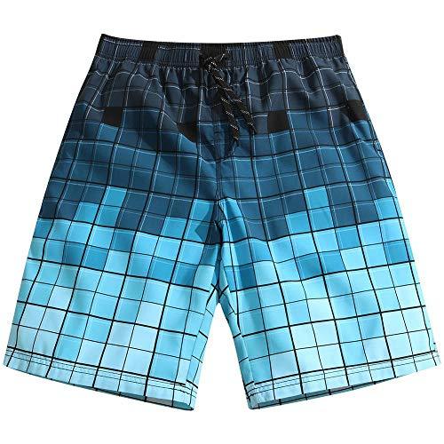 YOYVV Pantalones Cortos de Playa Hombres Traje de baño Estampado Pantalones Cortos de Homme Pantalones Cortos de Tablero Bañador Bañadores Ropa de Playa Pantalones Cortos para Correr