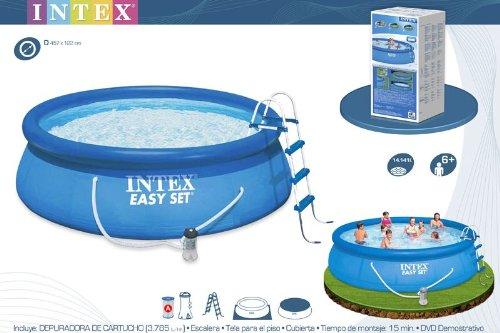 kit piscine Intex 4,57 m x 1,07 m