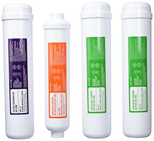 ATH conjunto 4 filtros ósmosis Genius