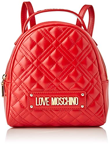 Love Moschino JC4201PP0BKA0, Mochila para Mujer, rojo, Normale