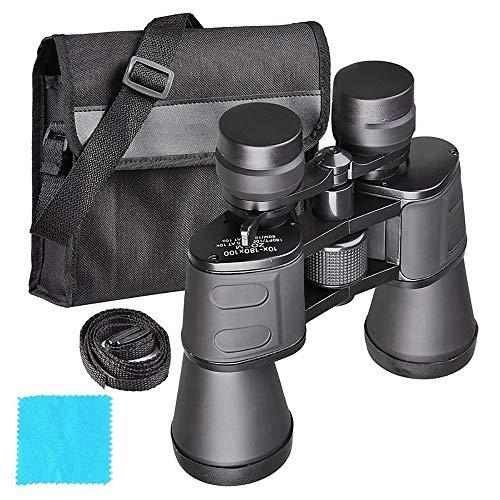 KEECARLY Visión Telescopio 100x180 HD compacto prismáticos de la noche BAK4 Prisma de alta...