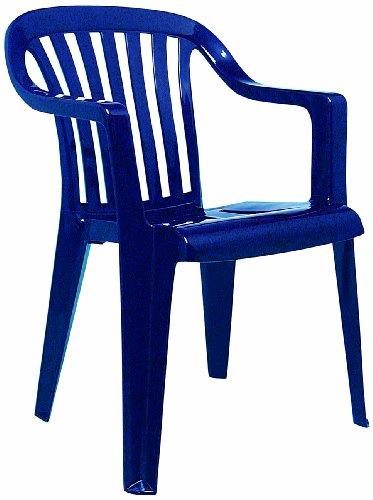 Best 18080520 Stapelsessel Memphis, blau