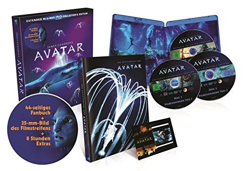 Avatar - Extended Collector's Edition inkl. Artbook [Blu-ray]