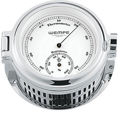 Wempe Chronometerwerke Cup Bullaugen-Thermo- /Hygrometer CW180007