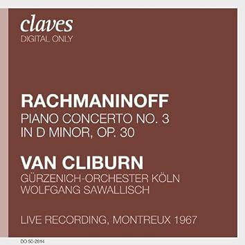 Rachmaninoff: Piano Concerto No. 3, Op. 30 (Live Recording, Montreux 1967)
