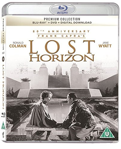The Lost Horizon 80th Anniversary Remastered Blu Ray / Slipcased Edition Includes Blu Ray / DVD / Digital Download / Booklet / Region Free Blu Ray