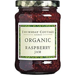 Naturally sweetened with fructose, our fruity reduced sugar preserves are key players in our product range. A special range of organic jams and marmalades Raw cane sugar, raspberries, lemon juice, citrus pectin.