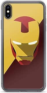 Tony Ironman Stark Avengerss Comic Superhero Stan-Lee Movie Minimalism 2020 Anti-Scratch Clear Case Case for iPhone Xs Max