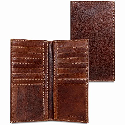 Voyager Breast Secretary Wallet #7304 (Brown)