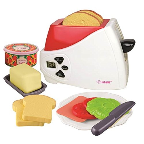 Motormax Fun, Colorful,, Pretend Play Toy Factory Electronic Toaster Playset