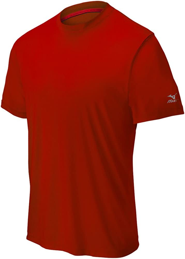 Mizuno Youth Indefinitely Comp Short Attention brand Sleeve Crew Top