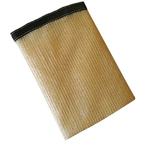 Sombra metal pantalla de tela de sombreado del agujero neto suculentas arrugas Prevención anti-oxidación a prueba de polvo Edge engrosamiento Patio de polietileno, 16 tamaños, adaptables Respetuoso de