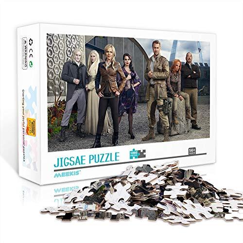 WJHXYD Rompecabezas para Adultos 500 Piezas Defiance imágenes de películas Juegos Diversión Familiar Rompecabezas de Piso Juguetes educativos para niños 52x38cm