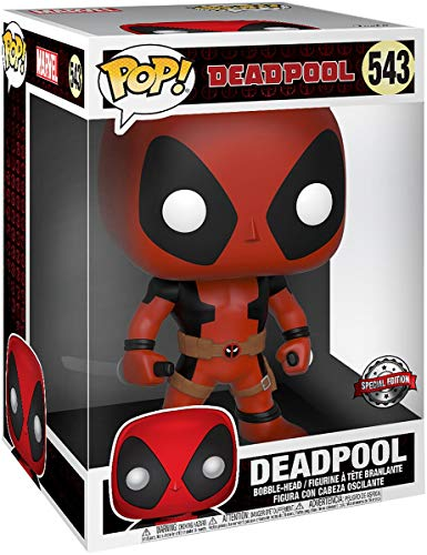 Funko Deadpool Super Sized Pop! Vinyl Figure Two Sword Red Deadpool 25 cm Marvel