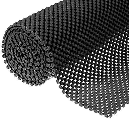 Muswanna - Alfombrilla antideslizante multiusos, con patrón de cuadrícula, PVC, antideslizante, para baño, cocina, impermeable, alfombrilla para el hogar y la oficina, coches, caravanas