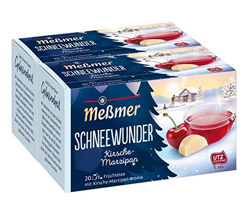 Meßmer Schneewunder - 20 Teebeutel, 2-er Pack (2 x 50 g)
