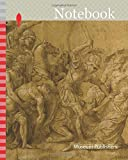 Notebook: Menelaus Holding the Body of Patroclus, n.d., after Giulio Pippi, called Giulio Romano, Italian, c. 1499-1546, Italy, Pen and brown ink with ... gouache, on tan laid paper, laid down on card