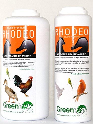 Rhodeo Poudre aviaire 250 grs