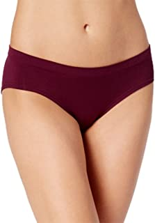Womens Seamless Hipster Color Deep Cranberry Size
