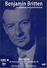 Benjamin Britten - In Rehearsal and Performance with Peter Pears