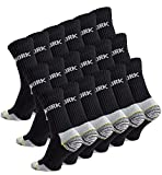 Cotton Prime 18 Paar Herren Arbeitssocken - Robuste Atmungsaktive Work Socks - Berufssocken, Gr. 43-46