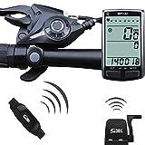 Fahrradcomputer / Tacho, kabellos, Yardstab, Bluetooth, ANT + Pedalfrequenz, M4, Geschwindigkeitssensor