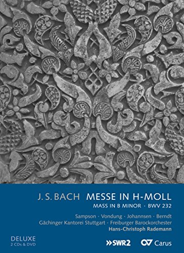 J.S.Bach: H-Moll Messe BWV 232 - Deluxe Version ( 2CDs + DVD )