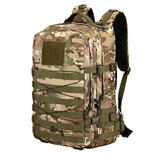 45L Nylon Tactical Military Army Mochila para Exteriores Mochila para Acampar Senderismo Deportes Bolsa de Escalada MC