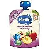 Nestlé Bolsita Puré Manzana Melocotón, A Partir de Los 6 Meses, 90g