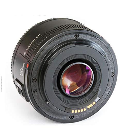 YONGNUO YN50mm 50mm F1.8 Lens Large Aperture AF Auto Focus Fixed Focus Prime Lens for Canon EOS 6D 60D 70D 5D2 5D3 550D 600D 700D 750D 1200D DSLR Camera