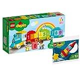 Collectix Lego 30322 Duplo - Juego de tren con números y Duplo
