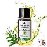 Huile Essentielle de Tea Tree Bio 30ml Pure et Naturelle certifie Biologique de Marque Franaise Avec...