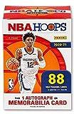 2020/21 Panini Hoops NBA Basketball BLASTER box (88 cards/bx incl. ONE Memorabilia or Autograph card)