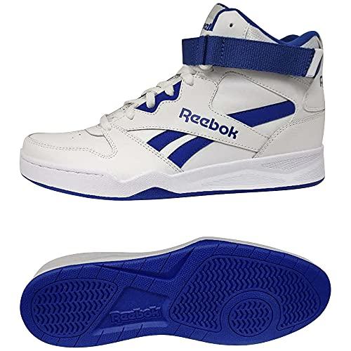 Reebok Royal BB4500 HI Strap, Zapatillas Hombre, FTWBLA/VECBLU/FTWBLA, 40 EU