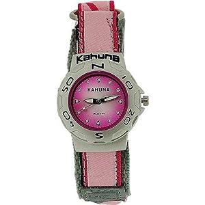 Kahuna orologio analogico ragazza rosa resistente acqua 5ATM cinturino