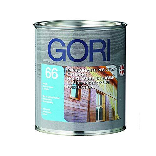 Gori 66-7813 NOCE MEDIO 0,75 l - Impregnante di finitura per legno esterno