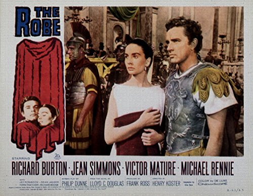 The Robe, Richard Burton, Jean Simmons, Victor Mature, 1953 - Foto-Reimpresión película Posters 20x15 pulgadas - sin marco