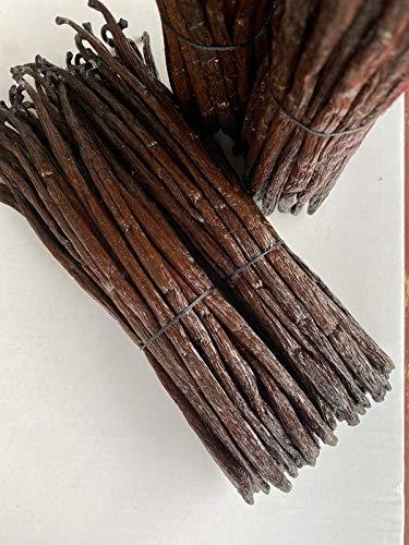 Hymor Bourbon Vanille aus Madagaskar - 10g 16-18 cm - Vanilleschoten Gourmet aus ganzen Schoten neue Ernte Madagaskar-Vanille Bourbon-Vanille Premium Qualität, zum Kochen und Backen
